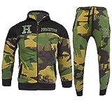 GUBA® Chándal de camuflaje HNL con capucha y parte inferior para niños de 5 a 13 años