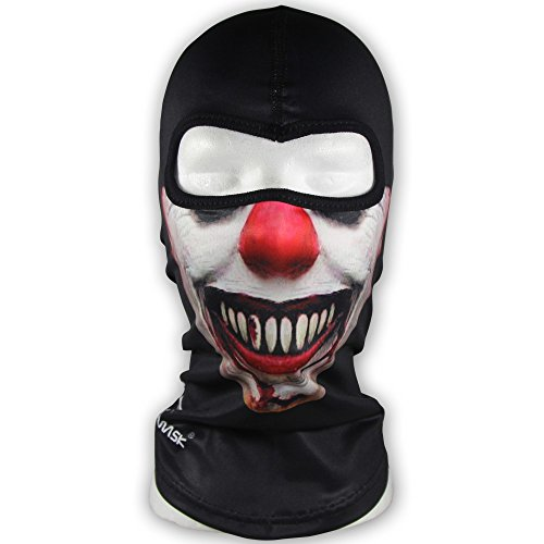 WINDMASK - Evil Clown - Sturmhaube Balaklava Skimaske