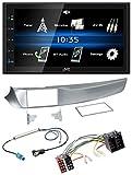 caraudio24 JVC KW-M24BT 2DIN Bluetooth MP3 AUX USB Autoradio für Alfa Giulietta 05