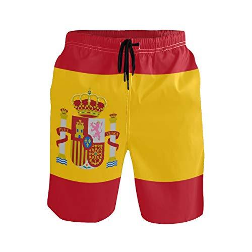 DEZIRO - Bañador para Hombre, diseño de la Bandera de España