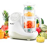 Baby Food Maker for Infants and Toddlers, Bable All-in-1 Food Processor Mills Machine with Steam, Blend, Chop, Sterilize, Warm Milk, Defrost, Grinder to Make Puree, Juice, Touch Control, Auto Shut-Off