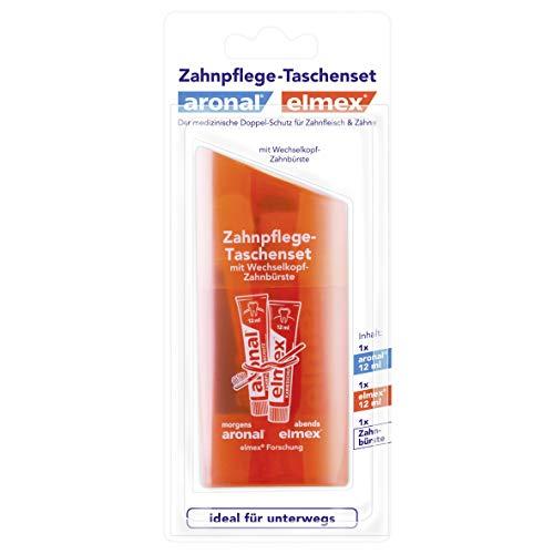 Aronal und Elmex - Zahnpflege-Taschenset
