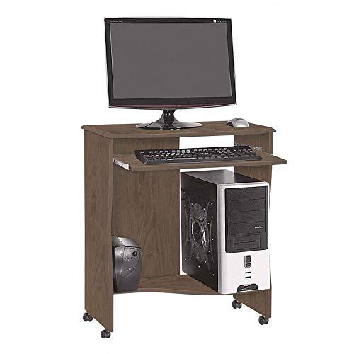 Mesa Para Computador Escrivaninha Basic Elo Amêndoa