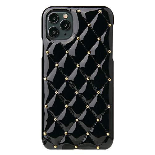 Suhctup Carcasa Compatible con iPhone 11 2019 6.1', Funda de Piel, Ultrafina, Bling Cuero, Premium Funda con Forro Textil Antideslizante, Funda para PC rígida para niña y Mujer