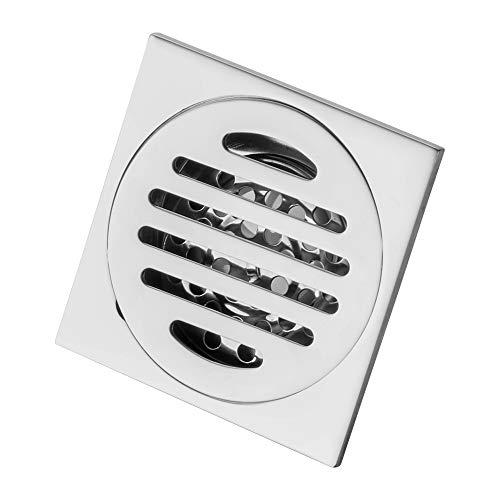 GERUIKE Desagüe de Suelo para bañera Tapa de desagüe de Acero Inoxidable extraíble para baño Ducha Cuarto de baño In