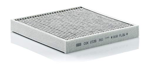 Original MANN-FILTER Innenraumfilter CUK 2339 – Pollenfilter mit Aktivkohle – Für PKW