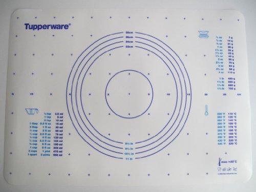 Tupperware Backen Teigunterlage blau auch für Knete Backunterlage Fix&Fertig MIT SPÜLTUCH 2029