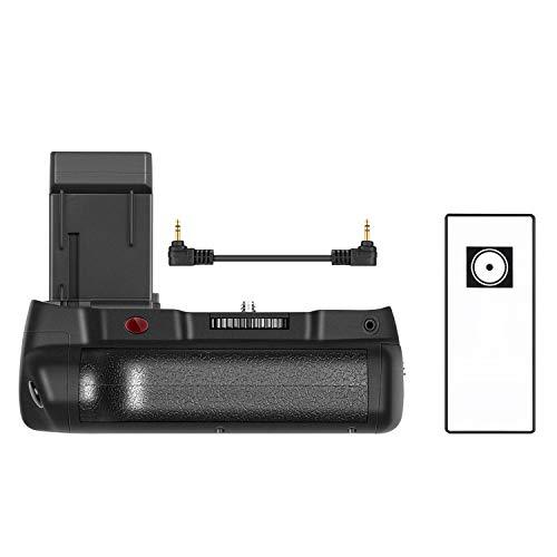 Neewer NW-760D Pro Empuñadura reemplazo para BG- e18 con controlador remoto de 2.4G con pantalla LCD incorporada para Canon EOS 750D / T6i, 760D / T6S