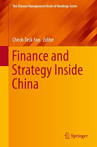 Finance and Strategy Inside China (The Chinese Management Book-of-Readings Series)