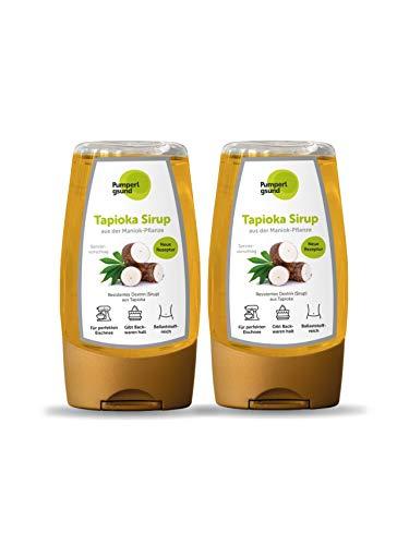 Pumperlgsund Tapioka Sirup zuckerfrei Fiber Sirup - für den Fluff (2er Pack à 250 g)