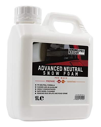ValetPRO EC19-1L Advanced Neutral Snow Foam Autoshampoo, 1 L