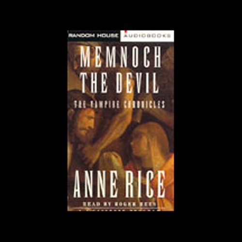 Memnoch the Devil audiobook cover art