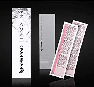 NESPRESSO DESCALING KIT INCLUDES 2 UNITS NEW VERSION