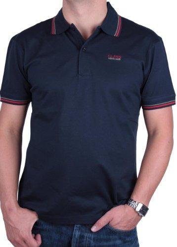 Roberto Cavalli Herren Poloshirt Polo Viele Farben und Größen (L, Dunkelblau)