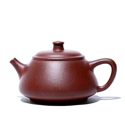 HePing Wu Mano Mineral de Tetera de té de té de la Tetera cucharón púrpura Películas de Arena de Oro (Color : Purple Jade Gold Sand)