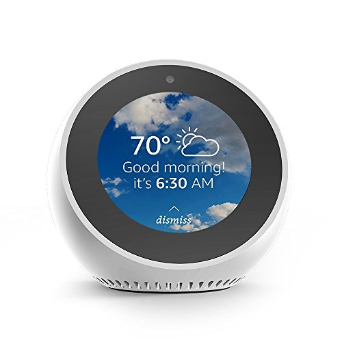 Echo Spot - Smart Display with Alexa - White