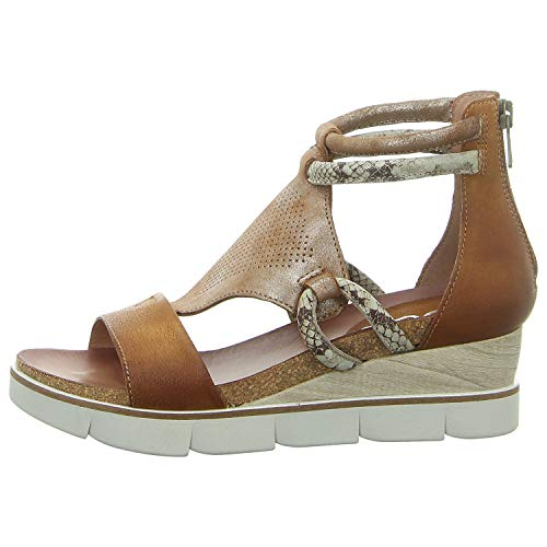 Mjus 866002-215-0001 - Damen Schuhe Sandaletten - Sella-Sella-Roccia, Größe:38 EU