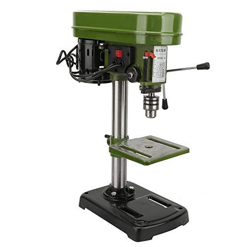 Best Deals! Drill Chuck Benchtop Drill Press Miniature Electric Bench Drill Press Workshop Mounted 3...