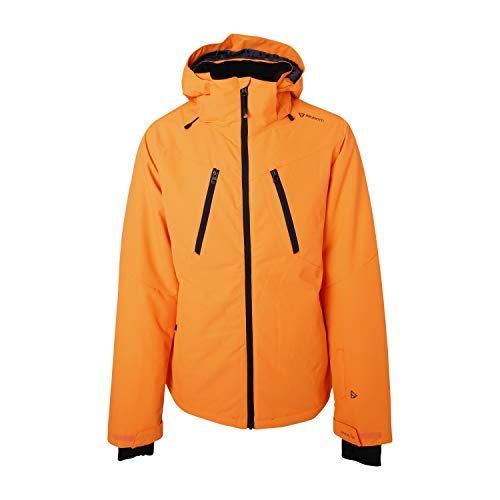 Brunotti ski-jack snowboardjas JOVIAN Men SNOWJACKET ORANGE Canvas