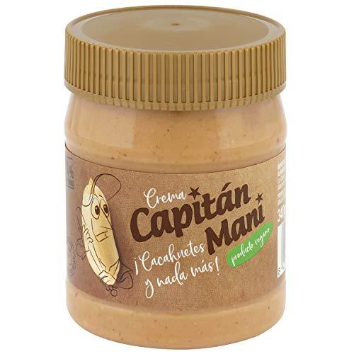 Crema de cacahuete Capitán Maní. 100% cacahuetes tostados 340 g