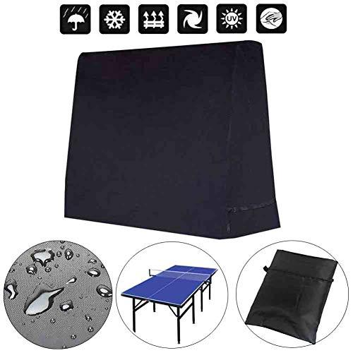 Kentop Tischtennisplatte Schutzhülle Ping Pong Platte Plane Hülle Abdeckung Outdoor Wasserabweisend Schützen Schutzhülle