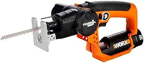 Worx WX540.3 - Trans4mer® - Sierra 2 en 1, sable y de calar - 1 Batería 12V - 1,3Ah - Li-Ion.
