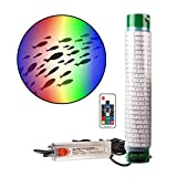 Green Blob Outdoors Multi-Color Underwater Fishing Light Show with Timer (Colors Include Red, Green, Blue, Purple, White, Yellow) for Dock and Pool w Remote 110V 30ft Cord