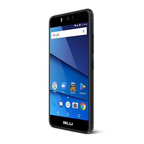 BLU R0150EE R2 Smartphone 13,20 cm (5,2 inch) (8MP hoofdcamera, 16GB intern geheugen 2GB RAM Micro SD, SIM-vrije Dual-SIM, Android 7.0 Nougat) zwart