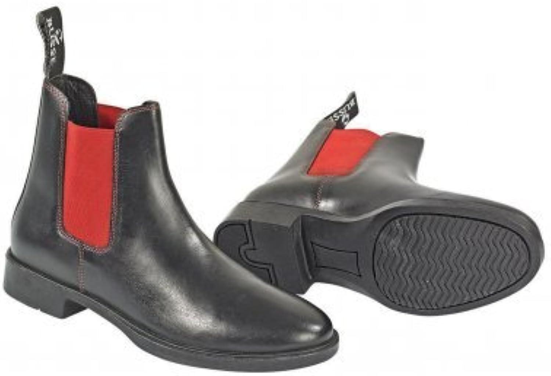 Busse Jodhpur-Stiefelette CLASSIC-COLOUR, 41, schwarz (rot), schwarz (rot)  | Verschiedene  | Zu verkaufen  | Stil