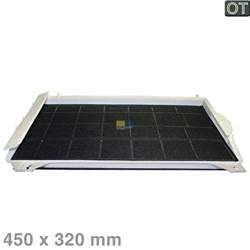 Bosch 00460736 460736 ORIGINELE koolstoffilter actieve koolfilter filter geurfilter rechthoekig 450x320 mm afzuigkap ook accessoires Balay Neff Constructa DHZ1100 LZ11000 Z5110X3 3BF719X