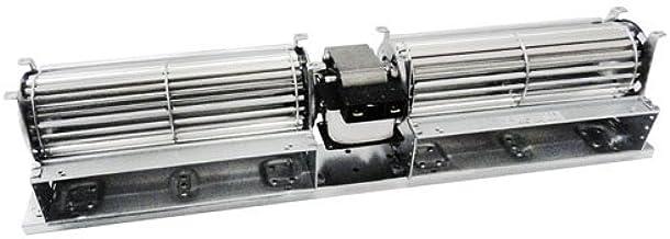 Motor Ventilador tangenziale doble estufa de pellets 25 W 2 x 240 ...