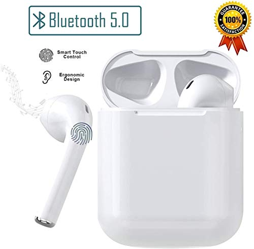 Auricolari Bluetooth 5.0 Auricolari Senza Fili, IPX5 Impermeabile 20H Playtime Vero Wireless Cuffie Sport,riduzione del rumore stereo 3D HD, per cuffie Apple AirPods Pro/Android/iPhone/Samsung/Huawei