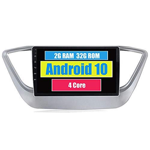 RoverOne Android 7.1 Système Pour Hyundai Verna Solaris 2017 Voiture GPS Navigation avec Autoradio Radio Stéréo Bluetooth HDMI MirrorLink Quad Core Système Multimédia