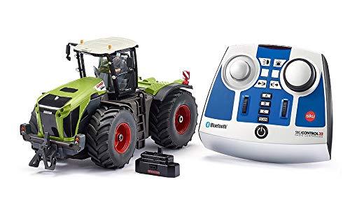 siku 6794, Claas Xerion 5000 TRAC VC Traktor, grün, Metall/Kunststoff, 1:32, Ferngesteuert, Inkl. Bluetooth-Fernsteuerung, Steuerung via App möglich