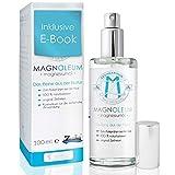 100% pures Magnesiumöl – Original Zechstein Magnesiumchlorid – Sprühflasche aus Glas – 100ml Magnesiumchlorid-Natursole
