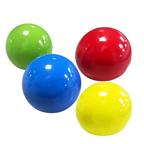 Ashley GAO Bola de descompresión de Pared Bola de Squash pegajosa Bola de Objetivo pegajosa Bola de Techo Juguete de descompresión Luminoso Juguetes de ventilación