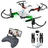 Drone con Fotocamera WiFi Trasmissione RC Quadricottero Posizionamento Preciso...