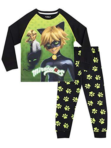 Miraculous Jungen Cat Noir Schlafanzug Mehrfarbig 116