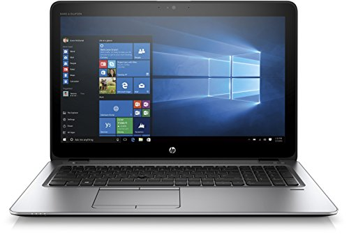 HP EliteBook 850 G3 Z2U91ES (15,6 Zoll UHD) Laptop (Intel Core i7-6500U, 512 GB SSD, 8 GB RAM, Windows 10) silber