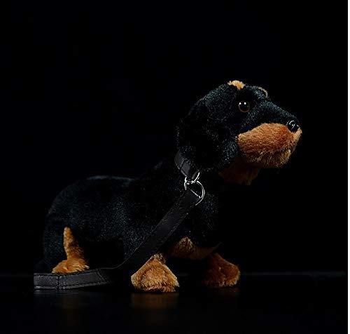 wangdounet Plüschtiere,Hundeleine Wurst Hund Puppe Niedlichen Hund Puppe Simulation Tier Plüschtier