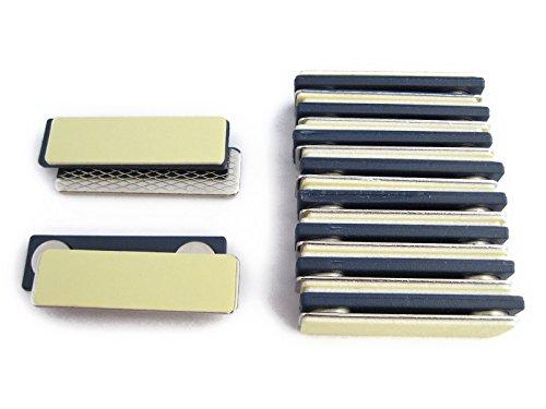 (両方に粘着テープ付)超強力ネオジム磁石板&スチール板セット【 10セット入 】【型番PDD10】