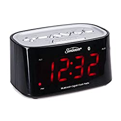 Sunbeam CR1009 Clock Radio w/Bluetooth Connectivity