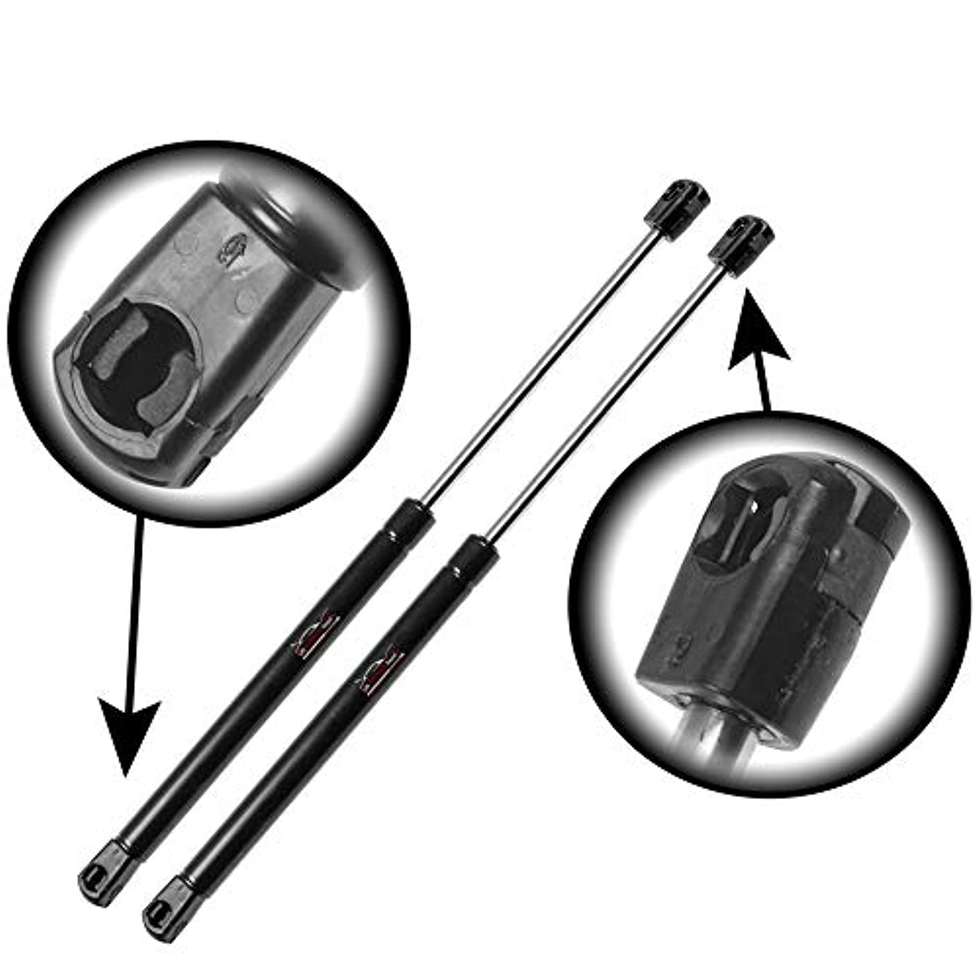 Qty (2) StrongArm 6197 Fits Jeep Compass 2007 To 2016 Liftgate Lift Supports, Struts. Gas With Speakers