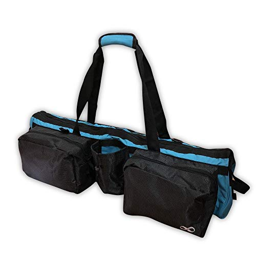YogaAddict Yoga Mat Tote Gym Bag Supreme con bolsillo, 30 'de largo, extra grande,...