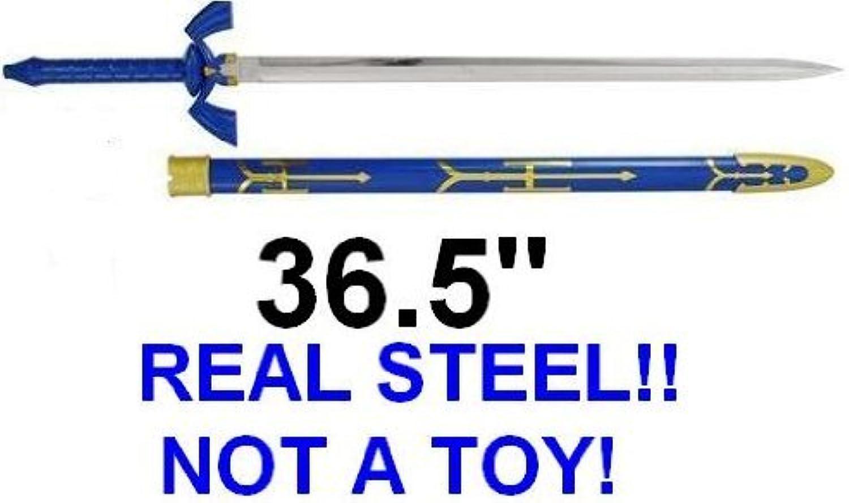 Legend of Zelda Link Master Sword of Time  Real Carbon Steel Version