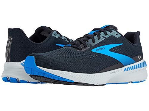 Brooks Launch GTS 8 Black/Grey/Blue 10 D (M)