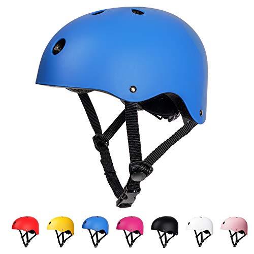 arteesol Fahrradhelm, Unisex Jugend Kinder Fahrradhelm (Blue)