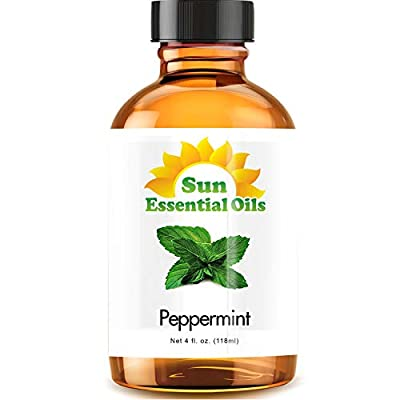 Bulk 4oz Bottle of Peppermint Oil - Amazing, fresh smelling Peppermint essential oil at an incredible value. You'll Love the Smell - We know most customers use essential oil for aromatherapy or for their wonderful aroma. We tested 100s of samples to ...