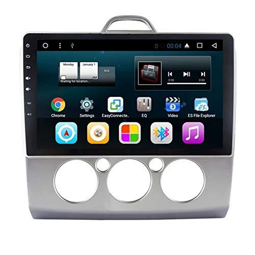TOPNAVI Android 7.1 Audio pour Ford Focus 2008 2009 2010 2011 Navigation stéréo Voiture Radio 1 Go de RAM 16 Go ROM WiFi 3G RDS Lien Miroir FM AM 10,1 Pouces