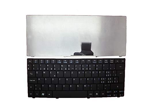 Acer Aspire One 571H 721 721H 722 751 751H 752 752H 753 Ferrari One 200 FO200 Swiss SW - Teclado para Ordenador portátil, Color Negro